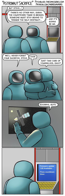Astronaut Sacrifice