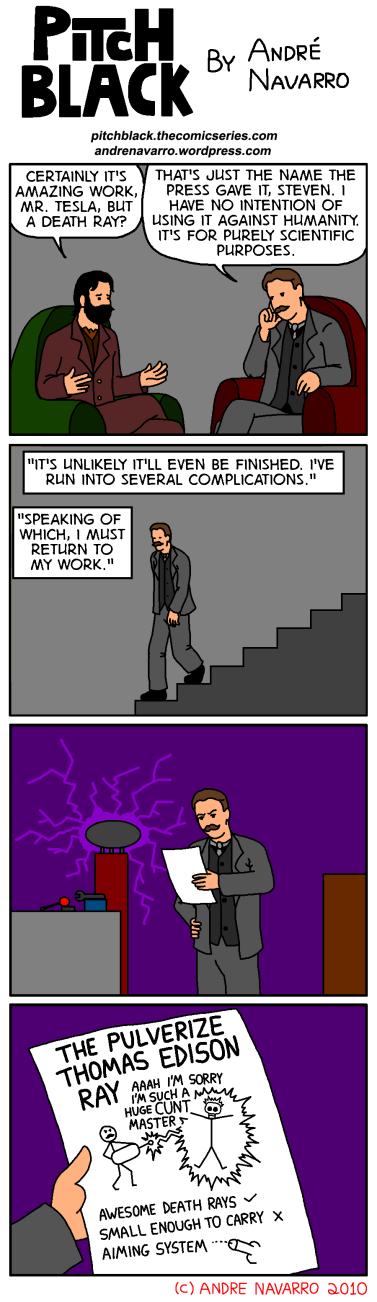 Tesla Death Ray