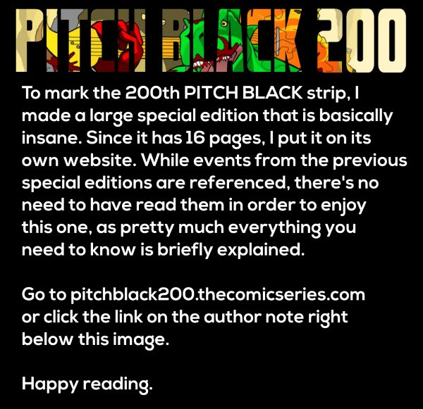 PITCH BLACK 200th Strip Special Edition